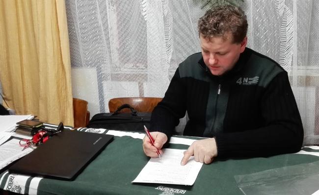 Petr Vitula - předseda ZO Dobrá